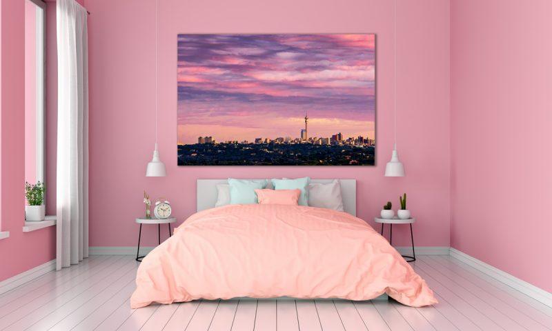 Joburg Sunset Pretty In Pink